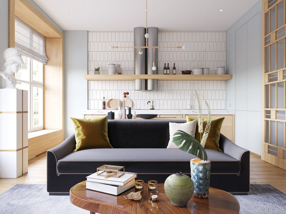 5 Beautiful Studio Apartments (With images) Apartment
