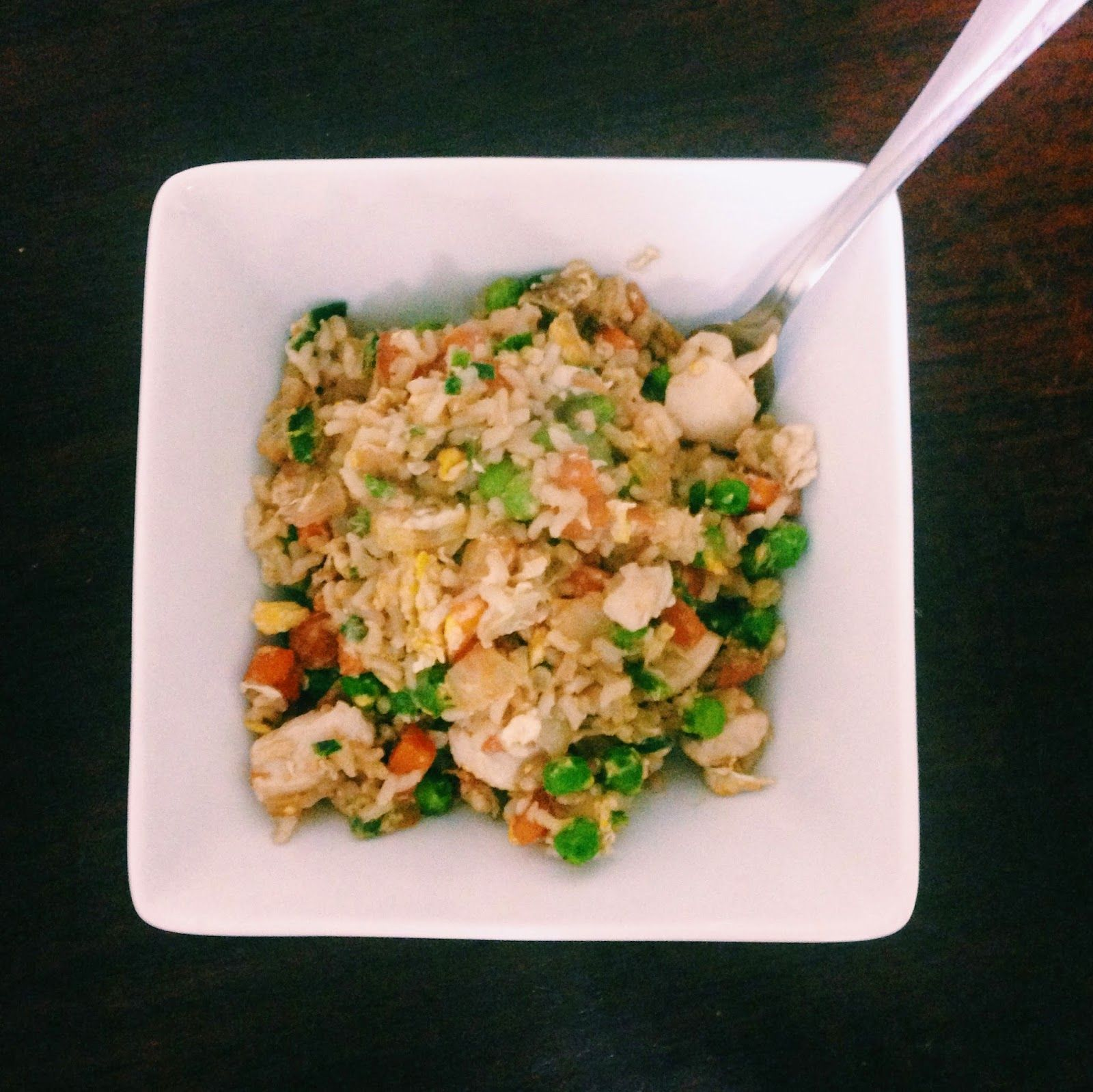 Breakfast At Kirsty's : Twist On Take Out: Chicken Fried Rice