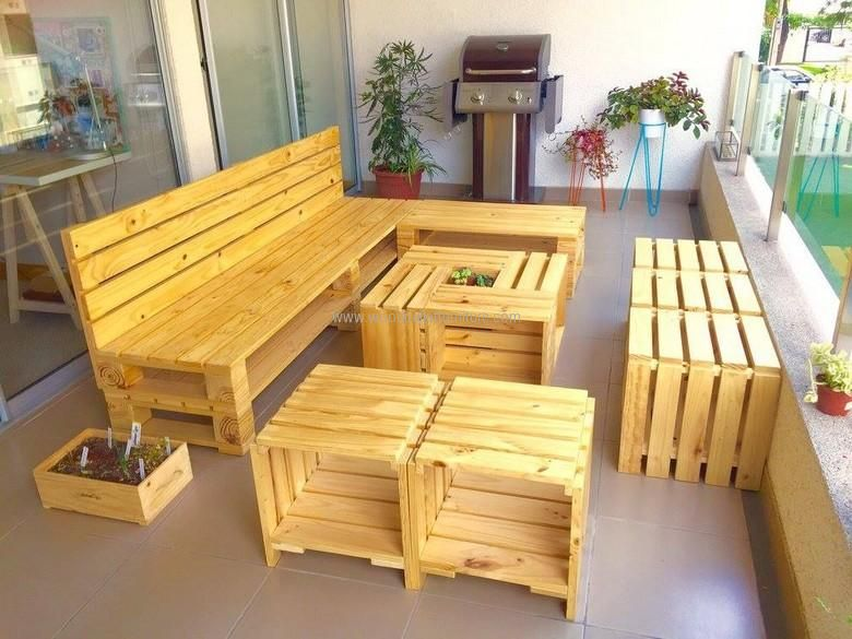 shipping pallet furniture ideas. 20 Amazing Ideas For Wood Pallet Furniture: He Furniture Items Are One Of The Foremost Things That Could Be Done With Shipping Pallets. T