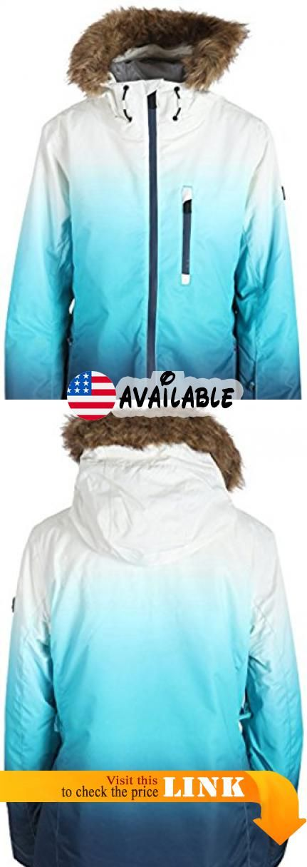 Powder Room Glades Snowboard Jacket Womens Sz M 100 Polyester