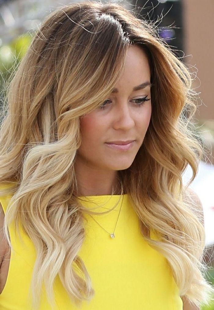Coloration blonde ou balayage