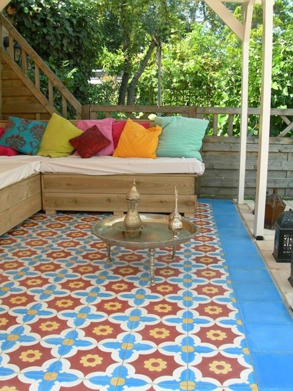 Outdoor Moroccan Tiling Simple And Chic Moroccan Tiles