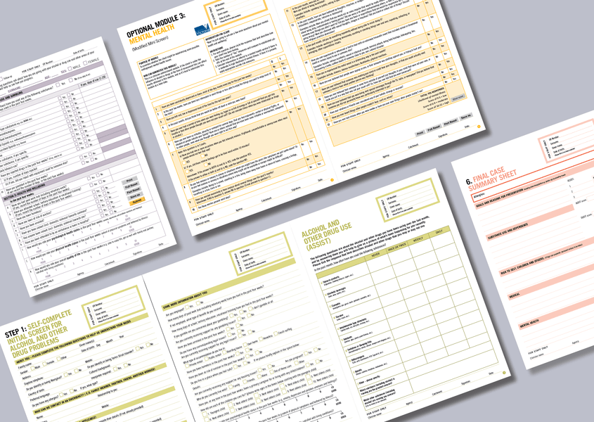 Health Services Interactive Pdf Forms  Adobe And Form Design