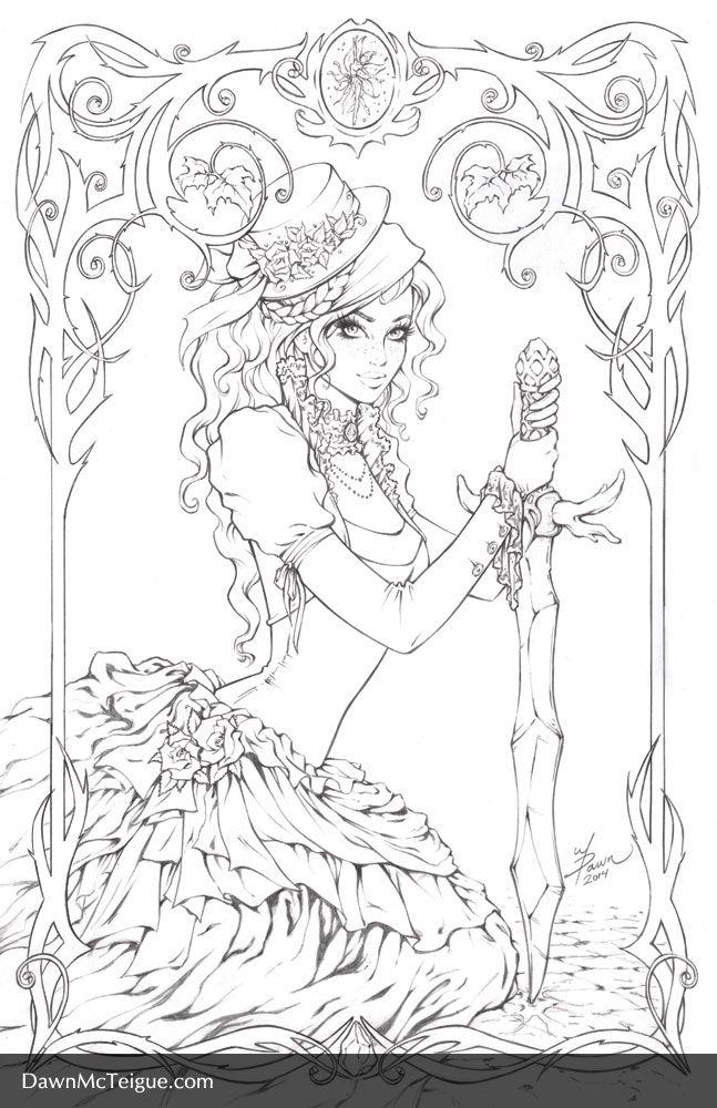 Theory of Magic: Selyara Pencils by Dawn-McTeigue.deviantart.com on @deviantART