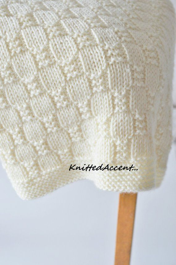 Photo of Einfache Decke MUSTER stricken Baby Pattern Knitting Pattern | Etsy – Baby Diy