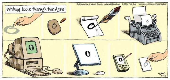 La Evolucion De Los Instrumentos De Escritura A Lo Largo Del Tiempo Que Sera Lo Siguiente Diseno Educativo Escritura Evolucion