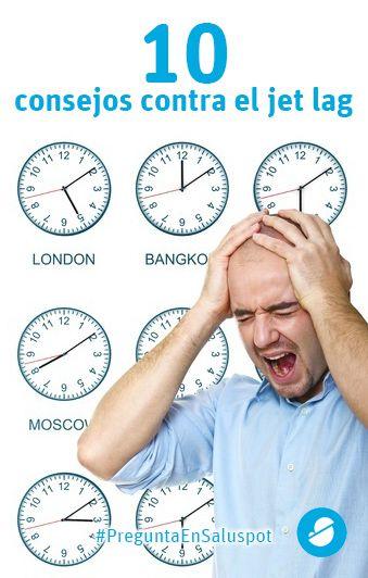 10 consejos imprescindibles contra el jet lag: https://www.saluspot.com/p/3934 #salud