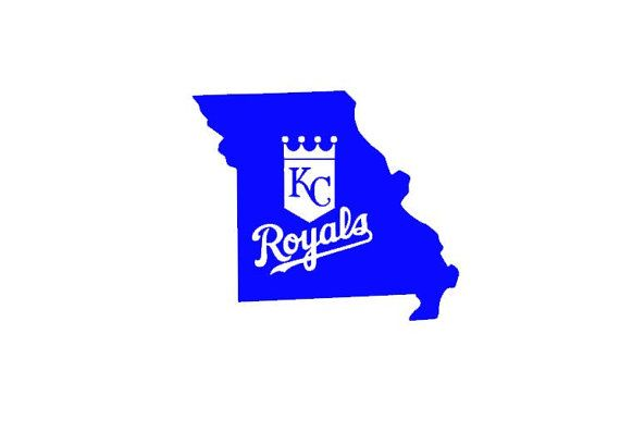 Missouri Kansas City Royals Custom State Map By HeidiHenion - Custom vinyl decals kansas city