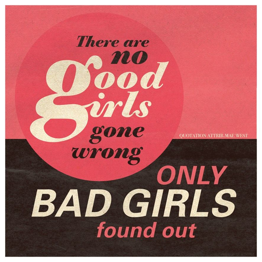 Good Girls Bad Girls Birthday Card - £2.95 = FREE UK Delivery.  Make Your Purchase :  http://www.pippins.co.uk/brands/urban-graphic-contemporary-greetings-cards/good-bad-girls-birthday-card-urban-graphics.html