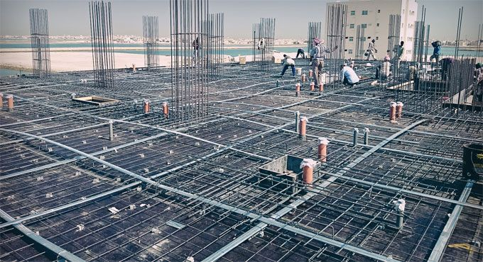Tensioning Post Ductlastic : Generally post tensioned pt slabs belong to flat