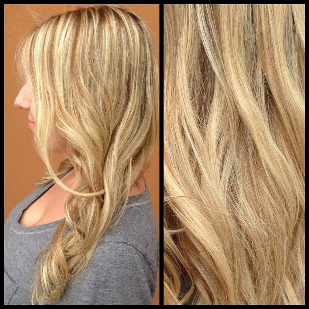 Golden Blonde Hair Highlights And Lowlights Blonde Hair Color
