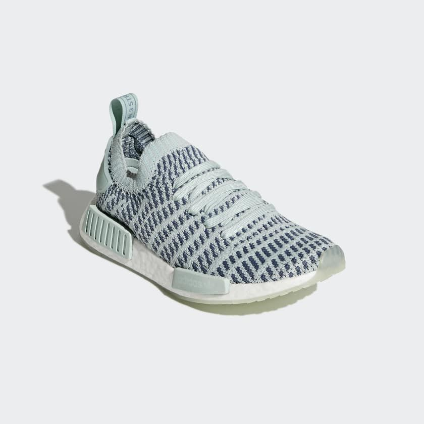 NMD R1 STLT Primeknit Shoes Green CQ2031  fa2deb925