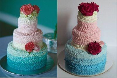 Your Own Custom Wedding Cake Replica Ornament Or Figurine