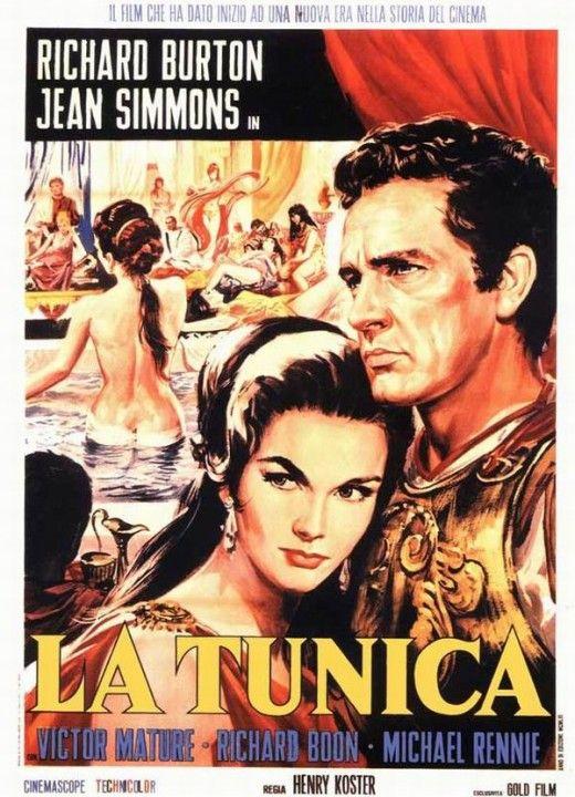 The Robe (1953) Italian poster