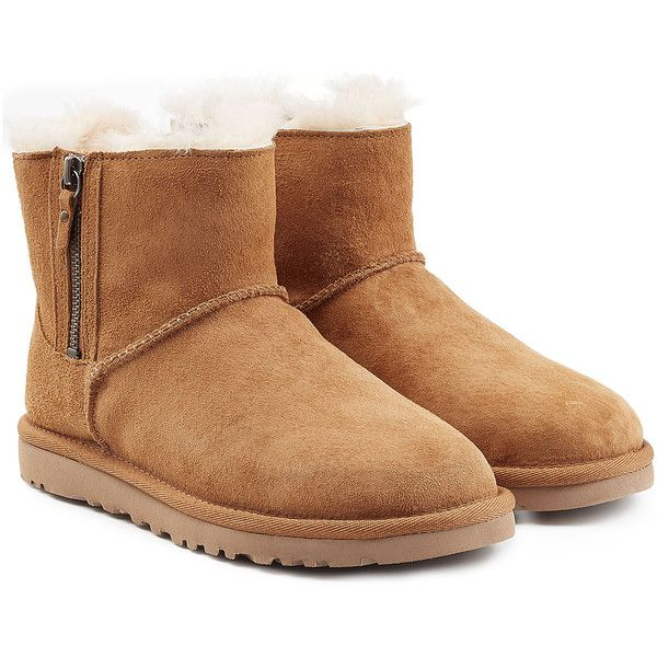 UGG Australia Shearling-Lined Round-Toe Booties free shipping clearance m7A2WCK8