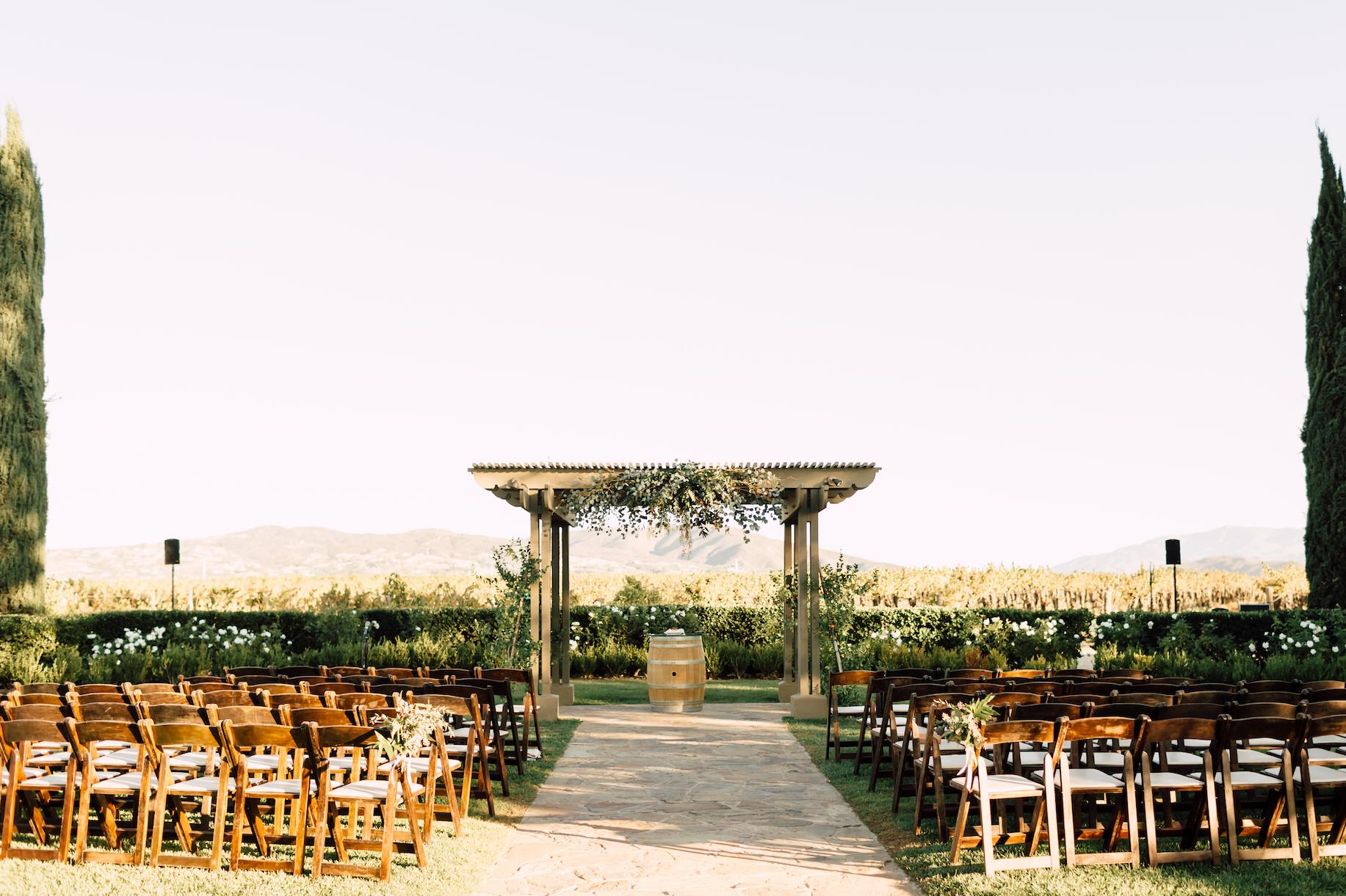 Ponte Winery & Vineyard Inn Temecula, CA Best Wedding