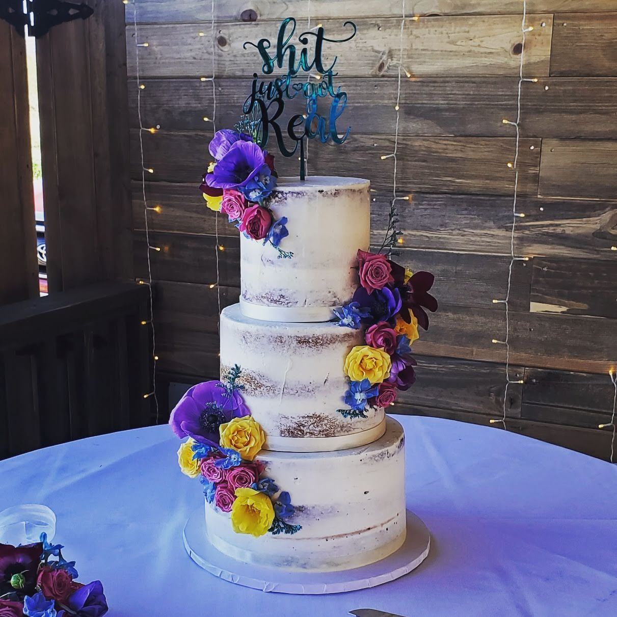 Pin on Wedding Cakes by Back Home Bakery