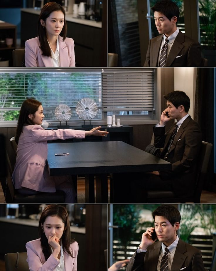 """[K-Drama]: """"VIP"""" has released tension-filled stills of Jang Nara and Lee Sang Yoon"""