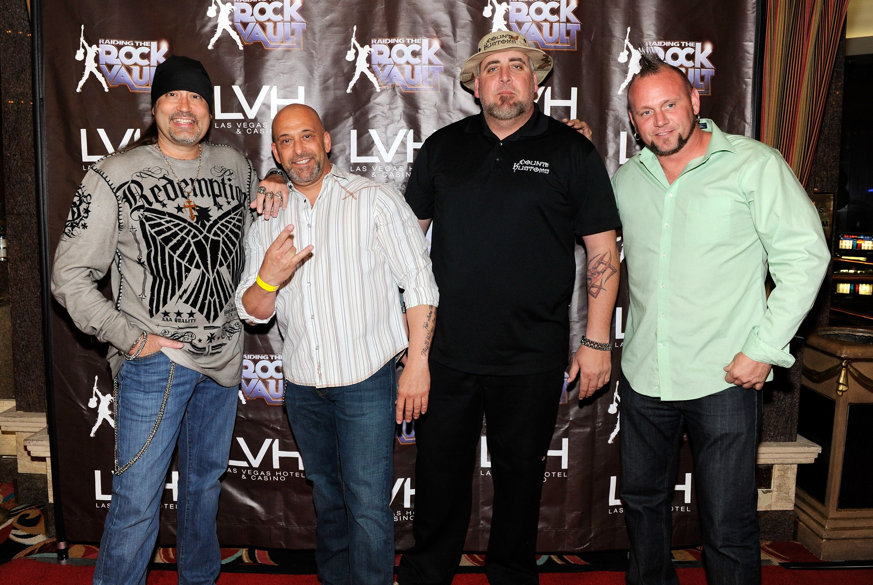 Photos Raiding the Rock Vault Debuts at LVH in RockStar