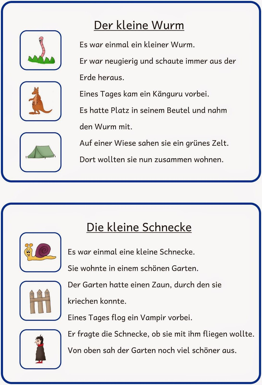 kleine lese und schreibkartei 2 deutsch deutsche schule deutsch lesen und lese bungen. Black Bedroom Furniture Sets. Home Design Ideas