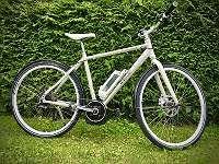E-Bike - nur 2x gefahren, wegen Wegzug aus Ö zu verkaufen