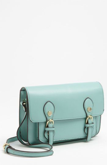 ab4bb48914 Steven by Steve Madden Crossbody Bag | Nordstrom $78 I love structured  satchels, and this mint color is just TOO cute.