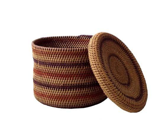 Artesanato Indigena Yanomami ~ Cesto produzido pela comunidade indígena Yanomami Utilizam cipós e fibras naturais da regi u00e3o