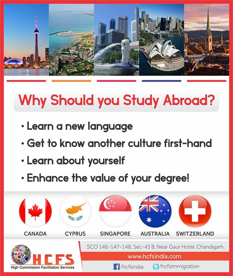 Best Work Visa Immigration Consultants In Chandigarh Mohali Study Abroad Learn A New Language