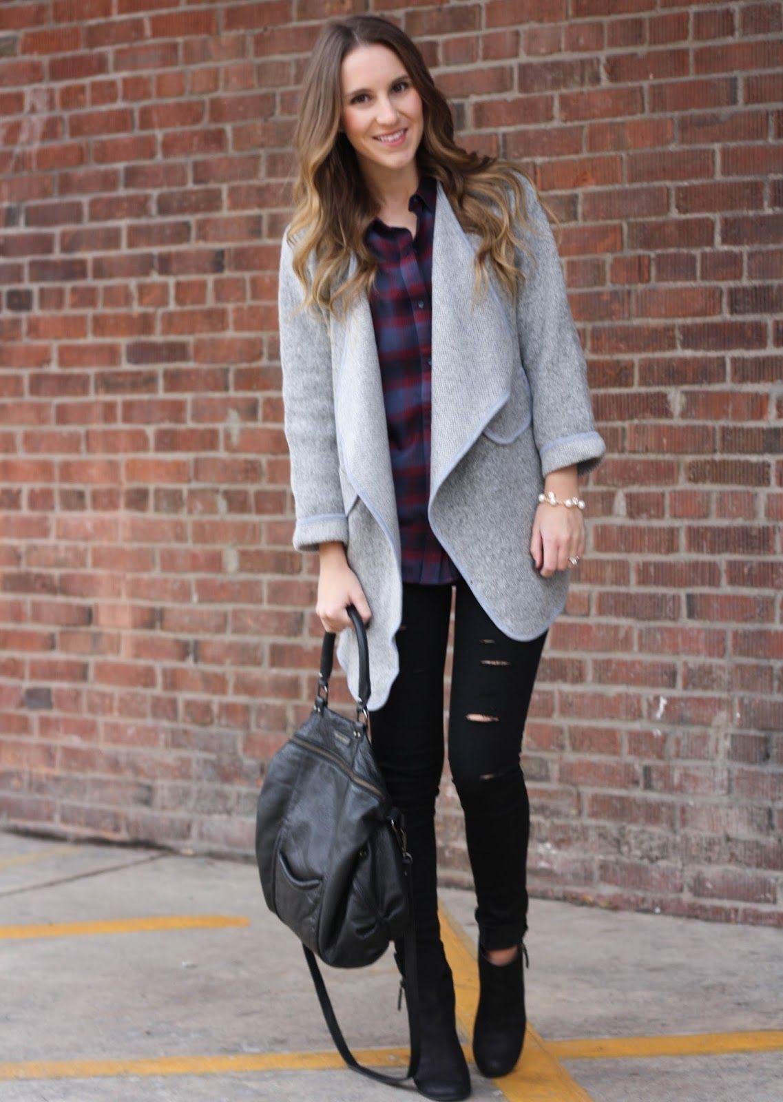 Flannel shirt with khaki pants  Casual Plaid  Plaid Fall winter and Fall winter fashion