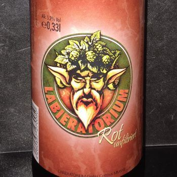 LaBieratorium Schwarze Pumpe Etikett bier