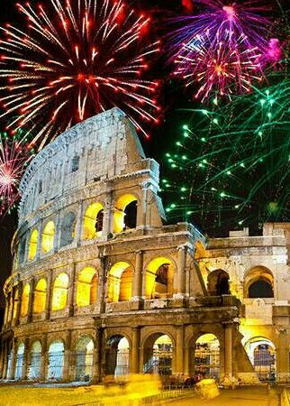Pin By Barbra Chapin On Fireworks Cool Places To Visit New Year In Rome Places To Visit