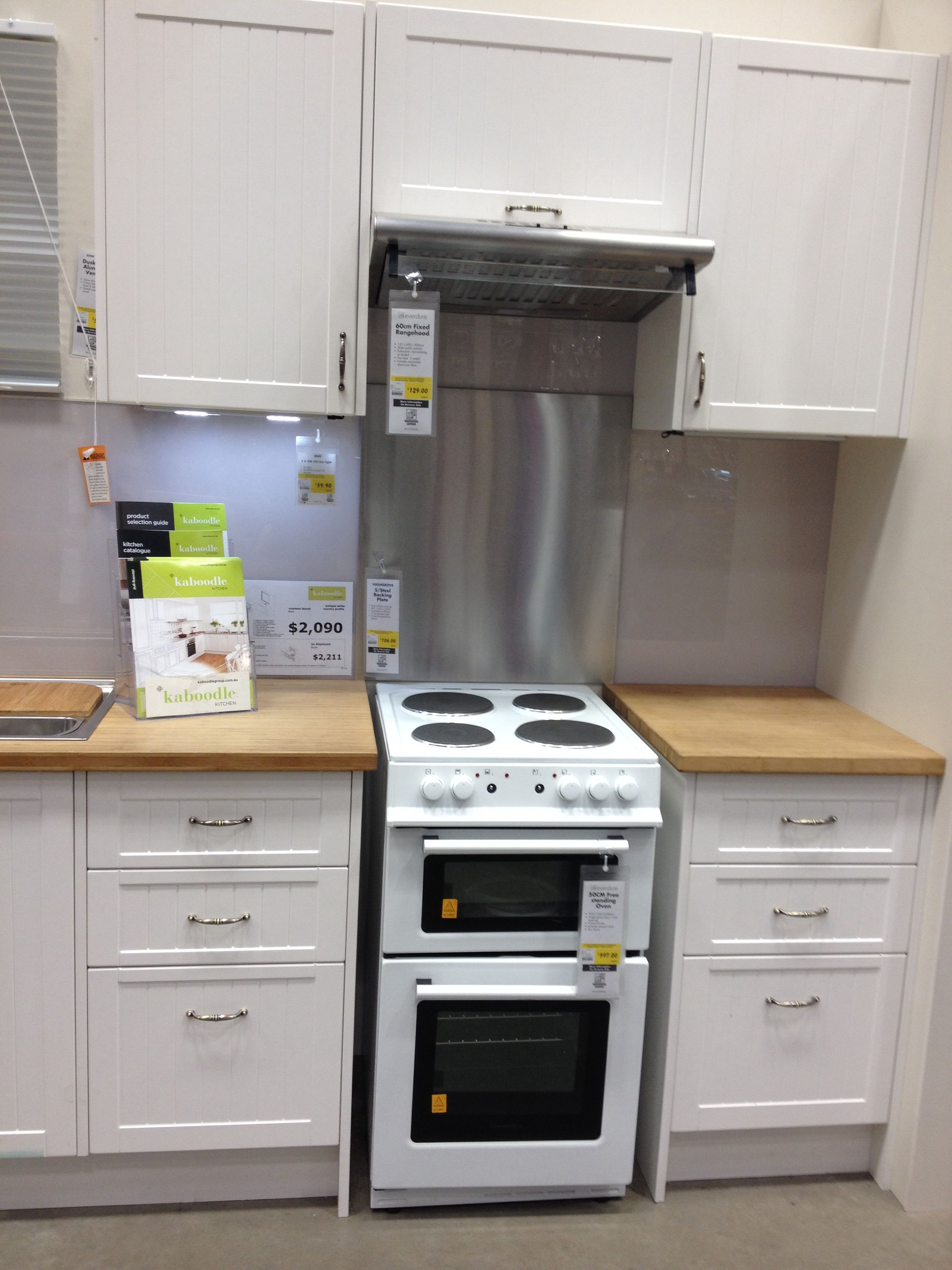 Kaboodle kit Kitchens in Bunnings. I love this exact one