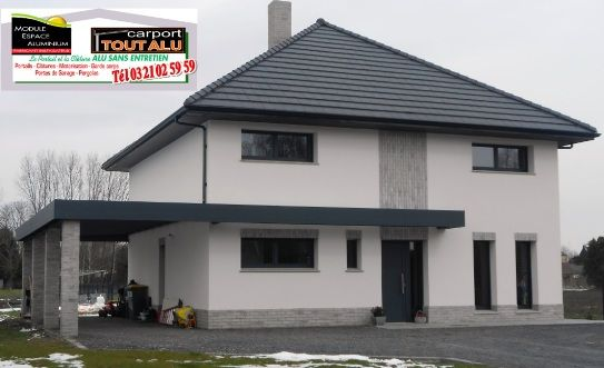 carport aluminium N°1 pas de calais béthune Idées pour la maison