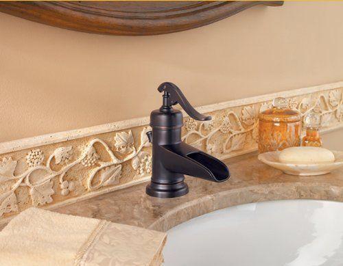 Classic Black Tap Waterfall Faucet Armaturen und