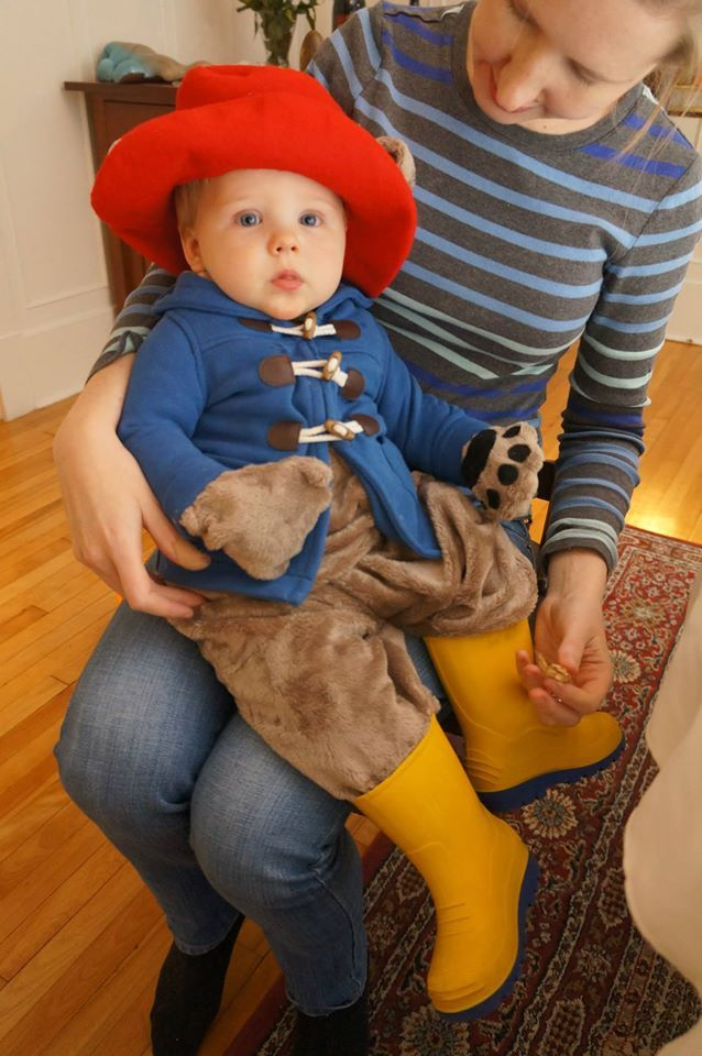 I can\u0027t stop staring This little Paddington is so cute Halloween - family halloween costume ideas with baby