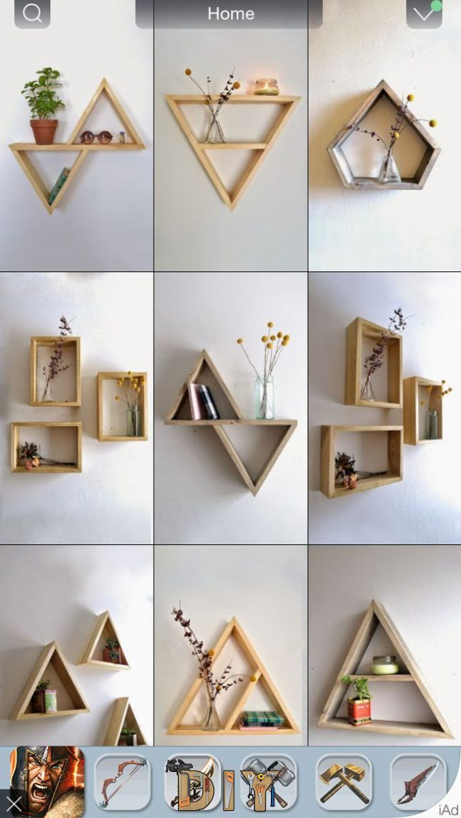 Cuadros O Libreros With Images Diy Room Decor Room Diy Room
