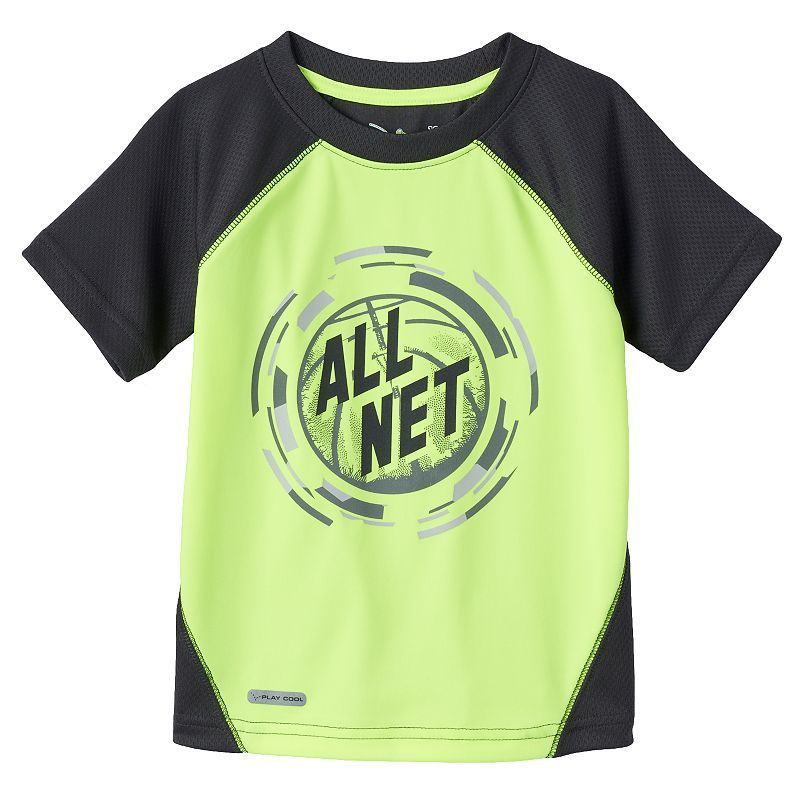 Baby Boy Jumping Beans® Play Cool Graphic Mesh Performance Tee, Size: