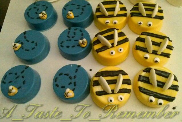 Bumble Bee Chocolate Covered Strawberries