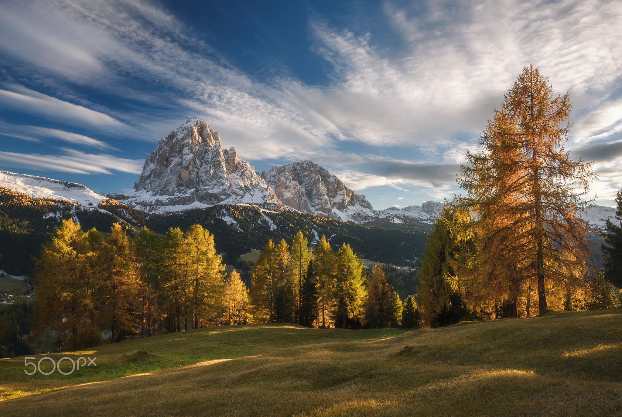 Gold of Dolomites Gold of Dolomites in October 2015 Picture from