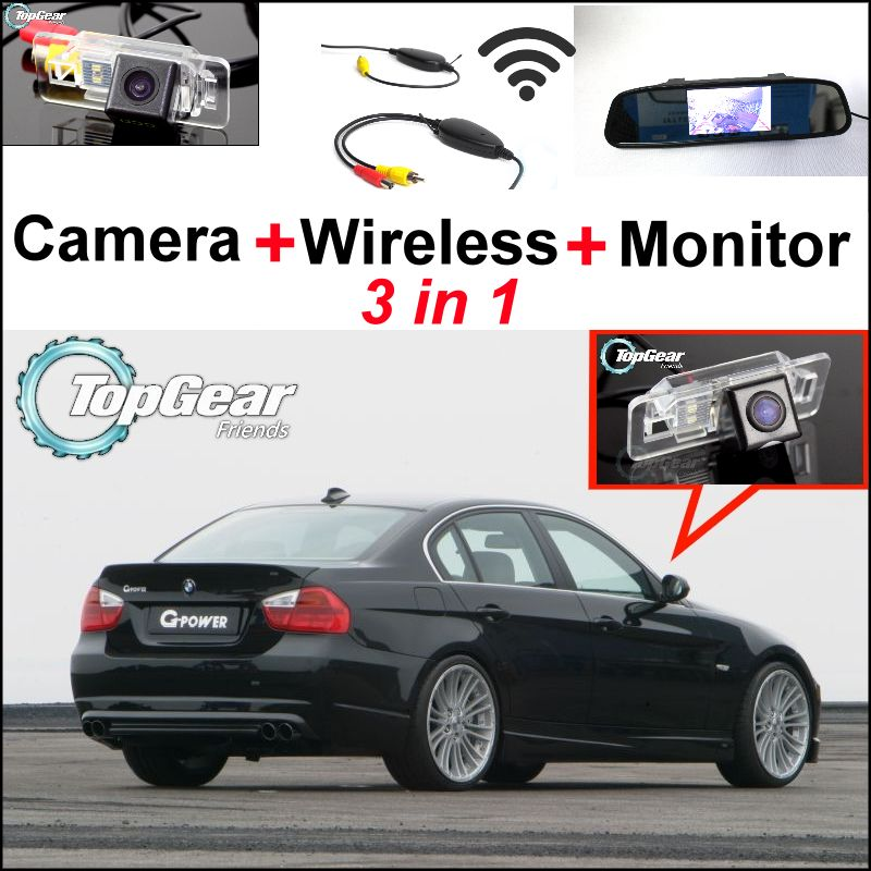 Special Wifi Rear View Camera Wireless Receiver Mirror Monitor