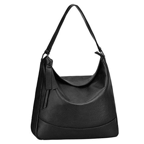 6b27a928b3bf S-ZONE Women s Genuine Leather Handbag Hobo Bag Large Tote Satchel Shoulder  Bag Messenger Bag