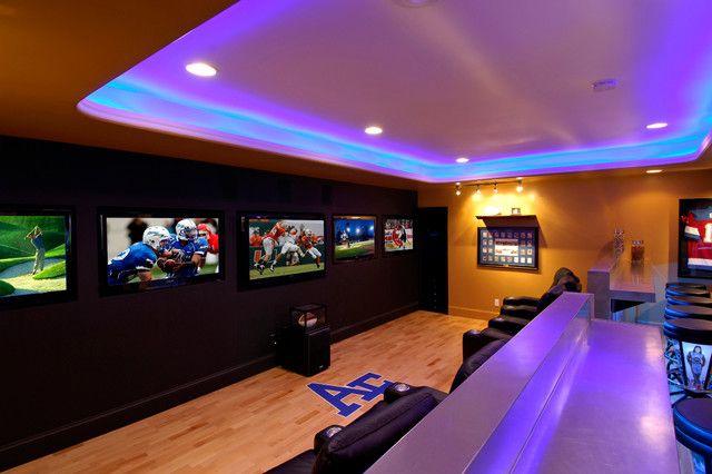 22 contemporary media room design ideas media room on smart man cave basement ideas id=80010