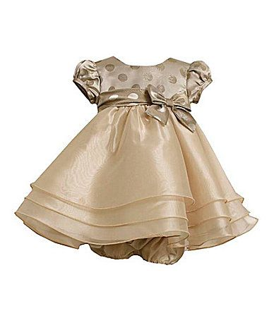 Bonnie Baby Infant Dot Dress and Panty #Dillards