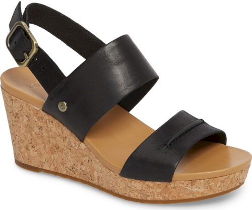 ugg elena platform wedge sandal