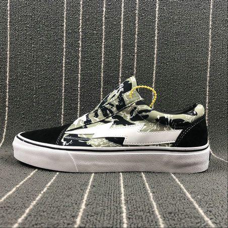 45db352bffb3 Retailmenot Coupon Vans Old Skool Revenge x Storm II Vol.1 Pop up Black  Army Green Camo Skate Shoe Vans For  Vans