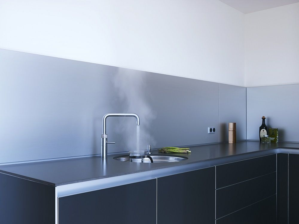 Quooker boiling water tap in a bulthaup b3 kitchen Looe Project - bulthaup küchen berlin