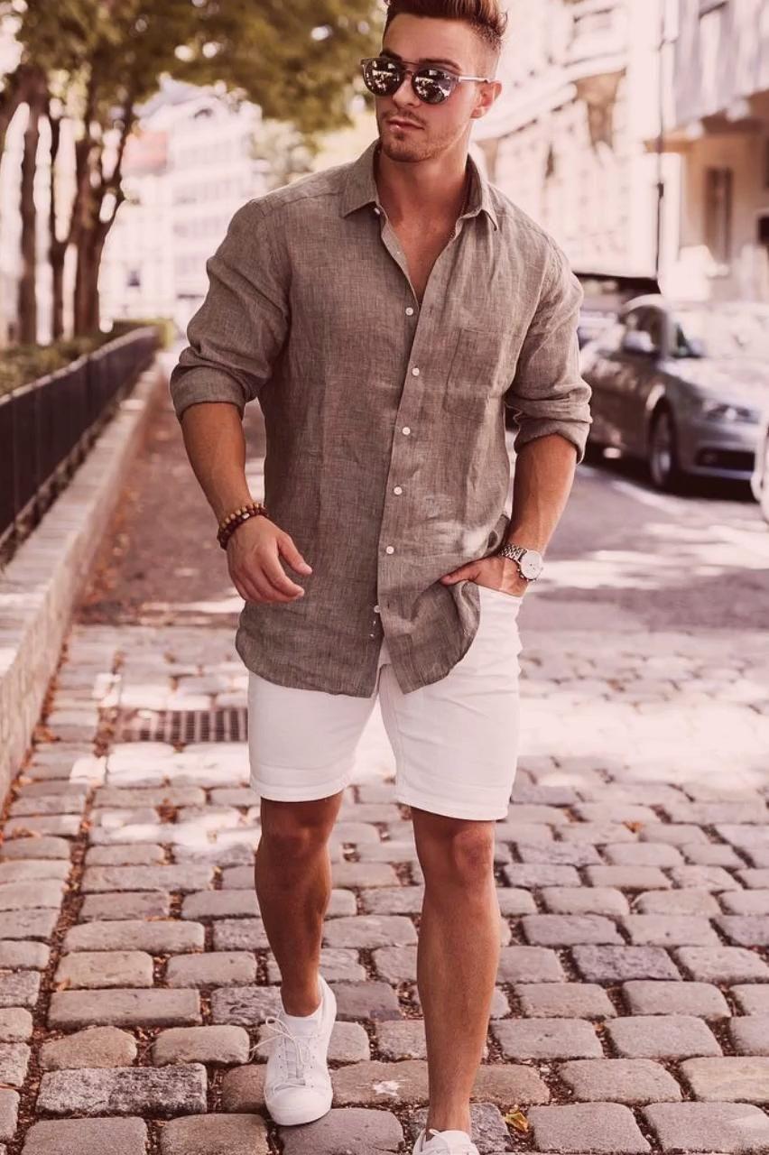 Angesagte Casual Sommer Outfits für Männer