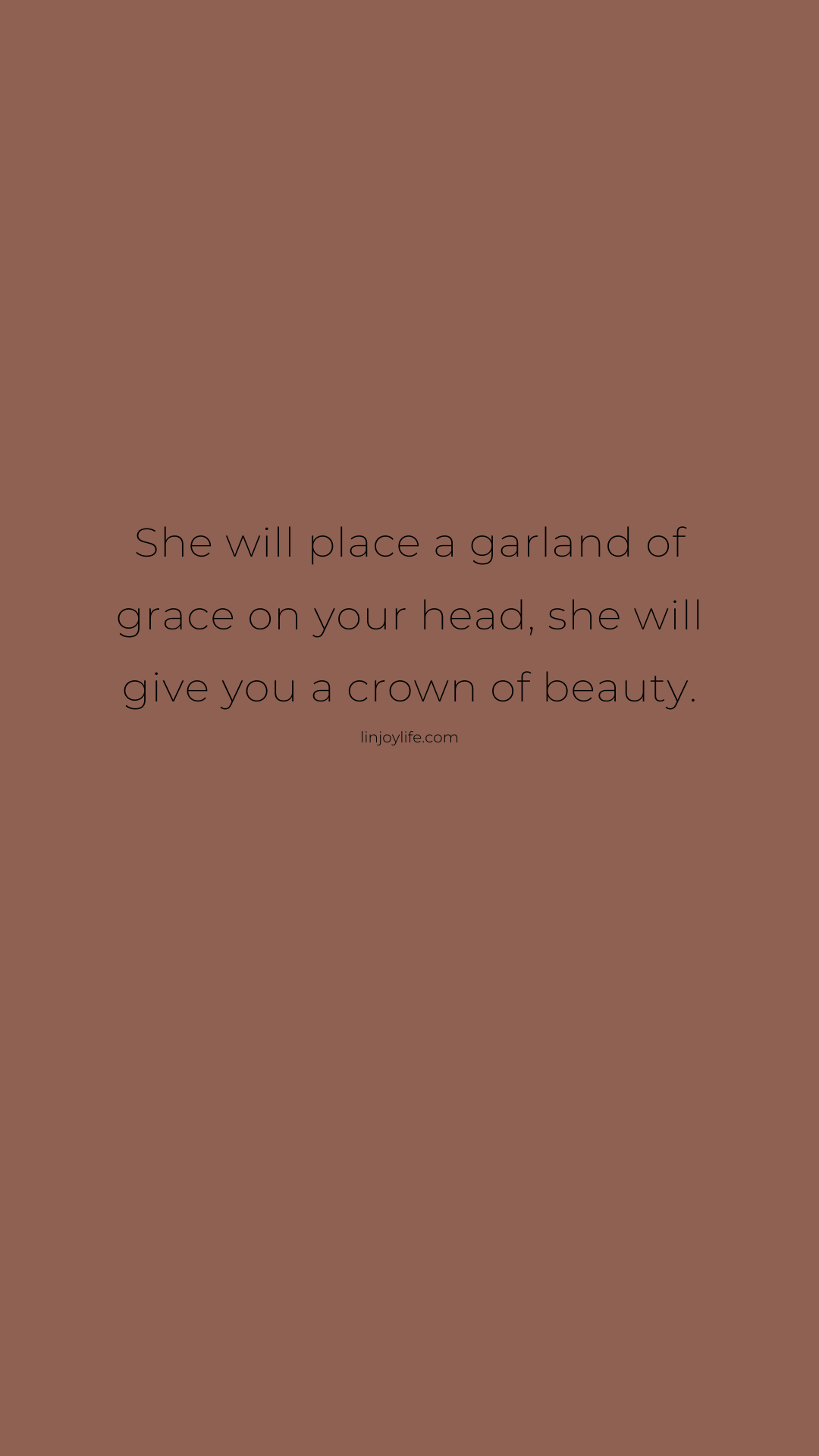 Brown Background Inspirational Quotes