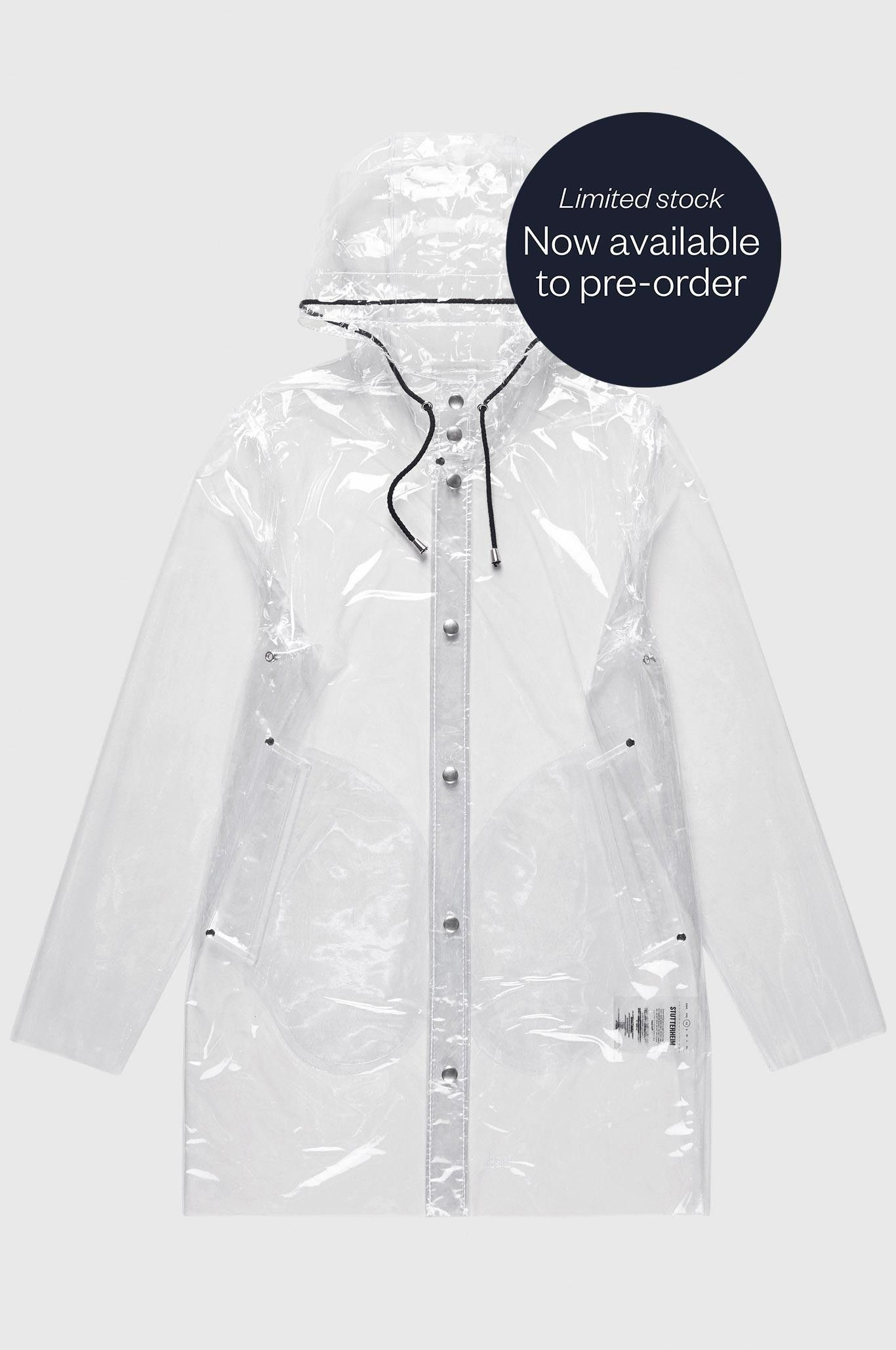 df325402a The Stockholm Transparent Raincoat is the latest update of our ...