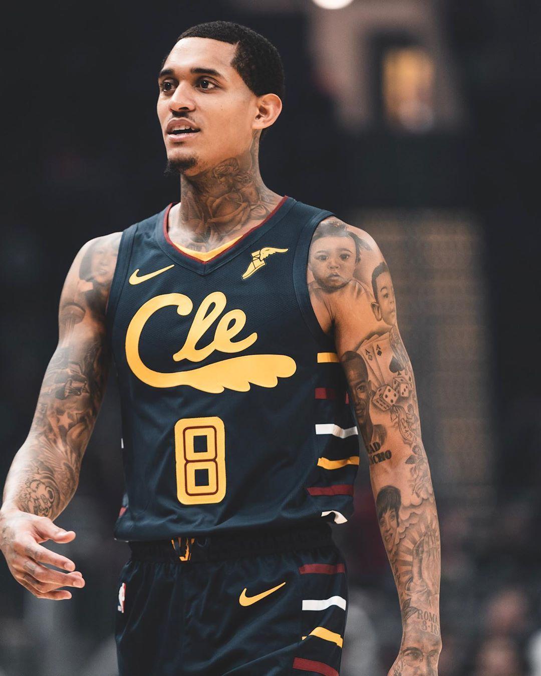 J On Instagram Know U Watching Big Bro Jordan Clarkson Basketball Players Christ Tattoo